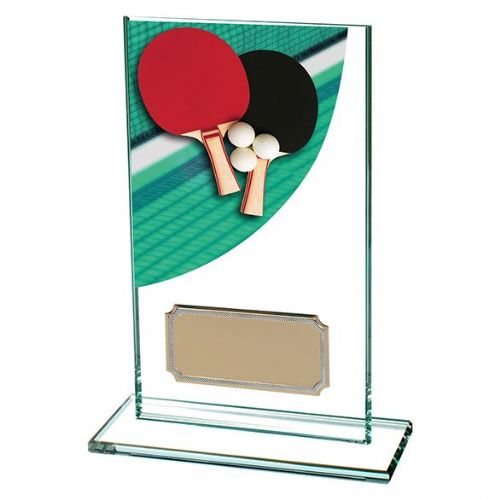 Colour-Curve Table Tennis Jade Crystal 140mm